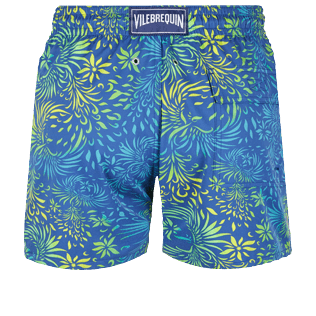 Hombre Clásico stretch Estampado - Men Stretch Swimwear Evening Birds, Batik azul back