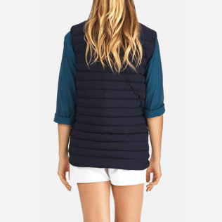 Others Printed - Sleeveless Doudoune Micro ronde des tortues, Navy supp2
