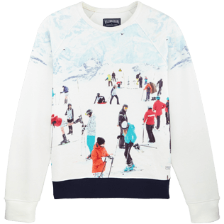 Men Others Printed - Men Sweatshirt Massimo Vitali, Sky blue front
