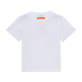 Boys Others Printed - Boys T-shirt Gone Tanning in Cannes, White back