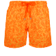 Men Classic Printed - Men Swim Trunks Ocean Paisely, Curry front