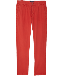 Men Others Solid - Men Chino Pants Ultra-Light, Medicis red front