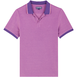 Men Others Solid - Men Changing Cotton Pique Polo Shirt Solid, Bengal front