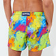 Men Stretch classic Printed - Men Swimwear Stretch Holi Party, Batik blue supp1