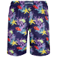 Men Long classic Printed - Men Swim Trunks Long Ultra-light and packable Fonds Marins, Sapphire back