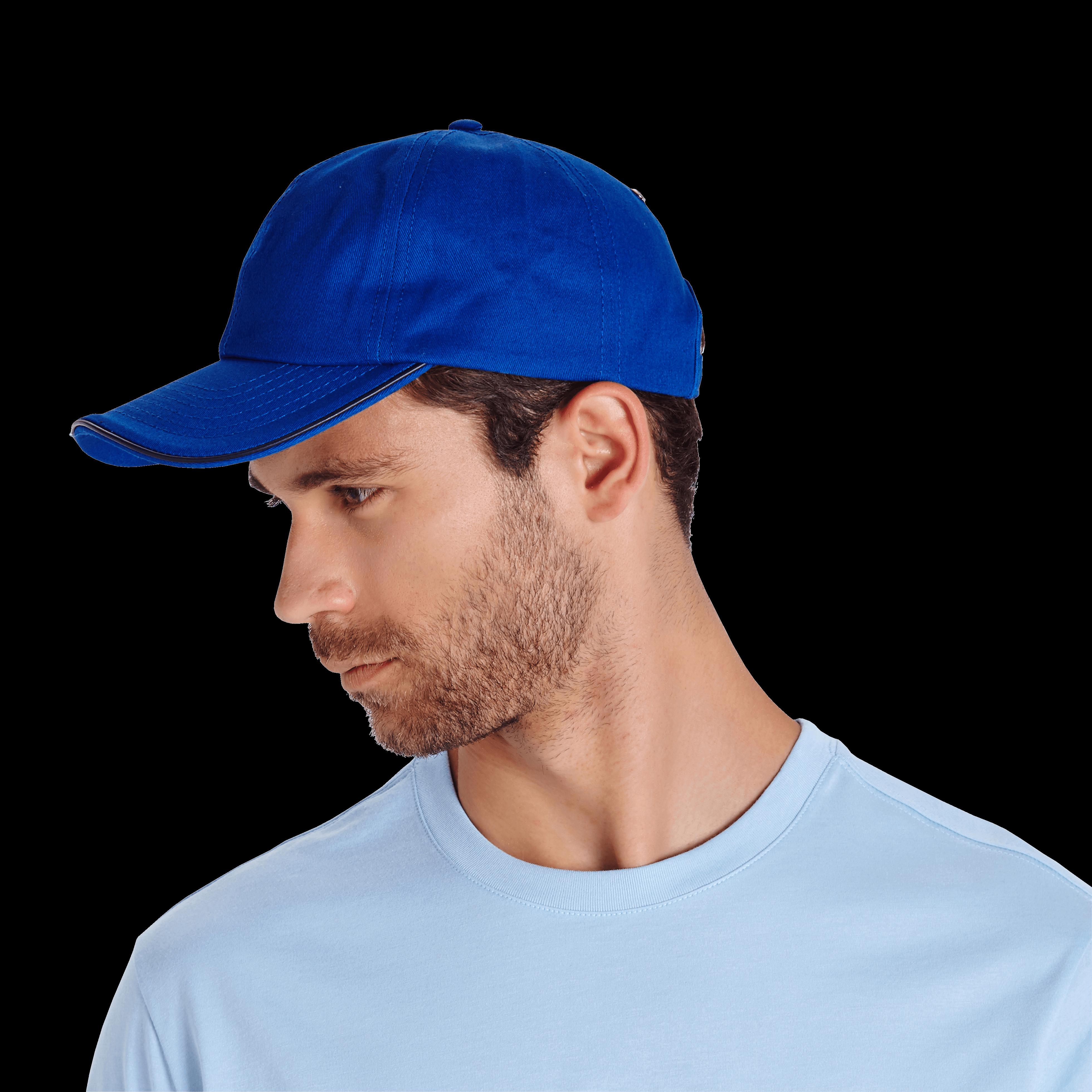 Vilebrequin Unisex Cap Solid In Blue