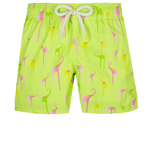 男童 Others 印制 - Boys Swimwear Stretch Giaco Elephant, Coriander front