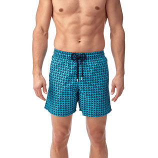 Men Classic / Moorea Printed - Baby Trop' Swim shorts, Azure supp2