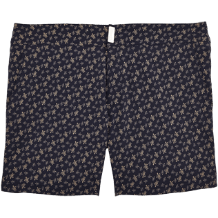 Men Fitted Printed - Micro Ronde des Tortues Superflex Fitted cut Swim shorts, Navy front