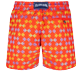 Herren Klassische Bestickt - Men Swimwear Embroidered Fishes in Love - Limited Edition, Medlar back