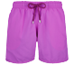 Men Classic Solid - Men Swim Trunks Solid, Orchid front