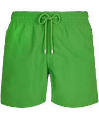 Men Classic Solid - Men Swimwear Solid, Grass green front
