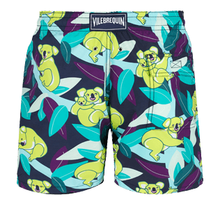 Men Classic Printed - Men Swimtrunks Koalas, Navy back