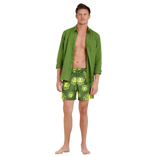 Men Ultra-light classique Printed - Men Swimtrunks Ultra-light and packable Poulpes, Sycamore supp2
