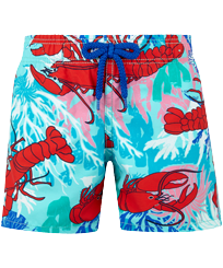 Boys Others Printed - Boys Swim Trunks Homards & Coraux, Medicis red front
