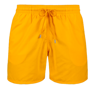 Men Classic Solid - Men Swimwear Solid, Mango front