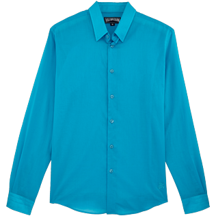 Others Solid - Unisex Cotton Shirt Solid, Seychelles front