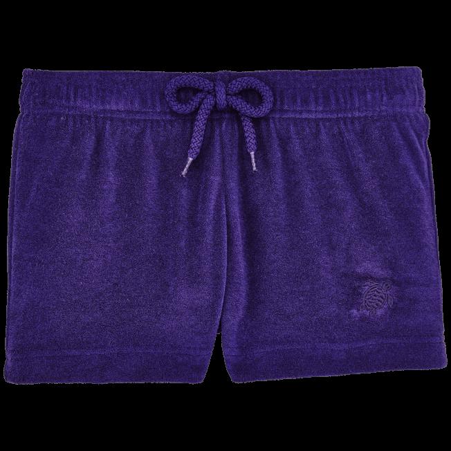 Vilebrequin - Girls Terry Cloth Shortie Solid - 1