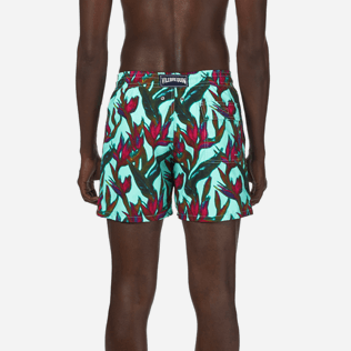 Men Classic Printed - Men Swimtrunks Paradise 3D, Lagoon supp2