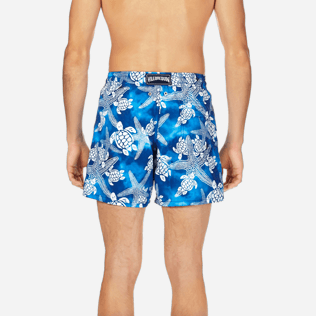 Men Classic Printed - Men Swimtrunks Starlettes & Turtles Vintage, Neptune blue supp2