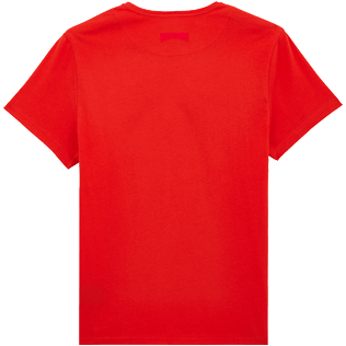 Uomo Altri Stampato - Men Cotton T-Shirt Crabs, Medicis red back