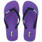 Men Others Printed - Men Flip Flops Micro Turtles, Sea blue front