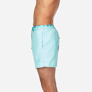 Men Classic / Moorea Solid - Starlettes et Turtles Bicolor Swim shorts, Lagoon supp3
