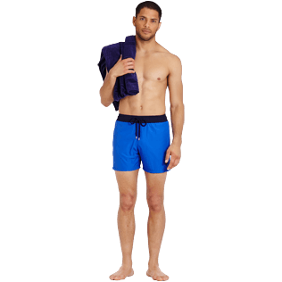 Men Ultra-light classique Solid - Men Swimwear Ultra-light and packable Bicolour, Royal blue supp2