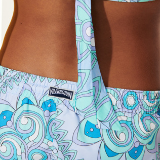Women Others Printed - Women Swim Short Mandala, Lagoon supp1