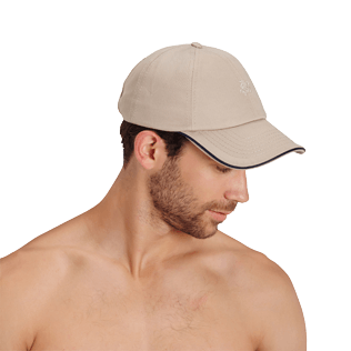 Others Solid - Unisex Cap Solid, Sand backworn