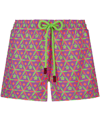 Women Others Printed - Women Swim Short Indian Ceramic, Pink berries front
