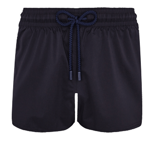 Men Short classic Solid - Men Swim Trunks Short and Fitted Stretch Solid, Black front