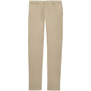 Men Others Solid - Men Sim chino Pants, Camel front