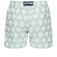 Men 017 Embroidered - Men Swim Trunks Embroidered - Limited Edition, Acqua back