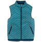 Others Printed - Unisex Reversible Sleeveless Down jacket Micro Turtles, Spray supp4
