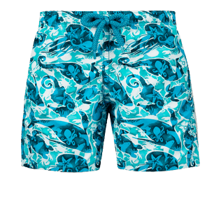 Boys Others Printed - Boys Swimwear Double Focus, Mint front