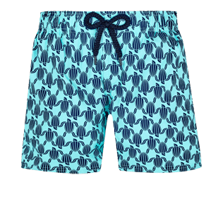 Boys Others Printed - Boys Swim Trunks Stretch Armor Turtles, Acqua front