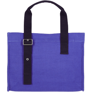 Others Solid - Unisex Small Beach Bag Solid, Royal blue back
