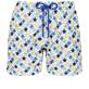 男款 017 绣 - Men Swimwear Embroidered - Limited Edition, White front