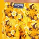Men Long classic Printed - Men Swimwear Long 1976 Sun Turtles, Lemon supp3