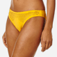 Women Classic brief Solid - Women midi brief bikini Bottom Pois Lazer Cut, Mango supp1