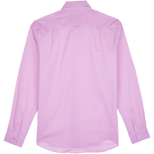 Others Solid - Unisex Cotton Voile Light Shirt Solid, Pink berries back
