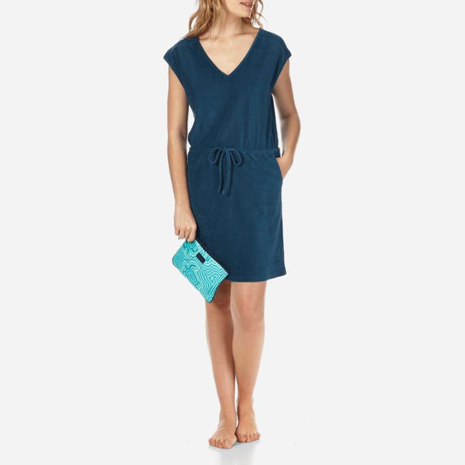 Vilebrequin - Robe courte en Eponge Femme Unie - 7