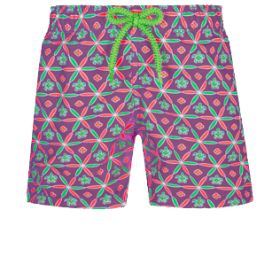 Boys Others Printed - Boys Swim Trunks Ceramics, Pink berries front