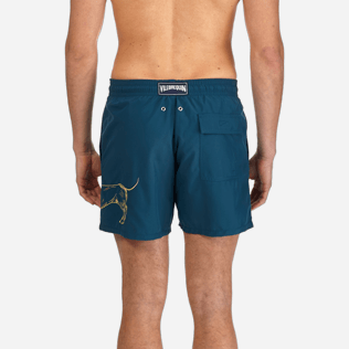 Men Classic / Moorea Embroidered - Sunny Dog Embroidered Swimshort, Spray supp2