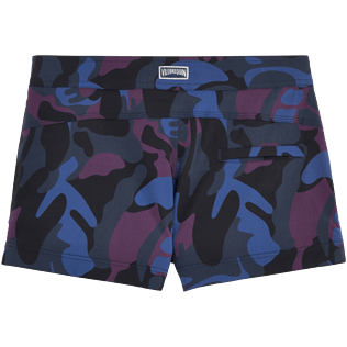 Femme Shortys Imprimé - Shorty stretch Camouflage Turtles, Prune back