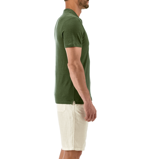 Vilebrequin - Solid Linen jersey polo - 5