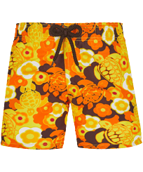 Boys Others Printed - Boys Swimwear 1976 Sun Turtles, Lemon front
