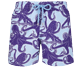 Men Classic Printed - Men Swimtrunks Vintage Octopus, Sky blue front