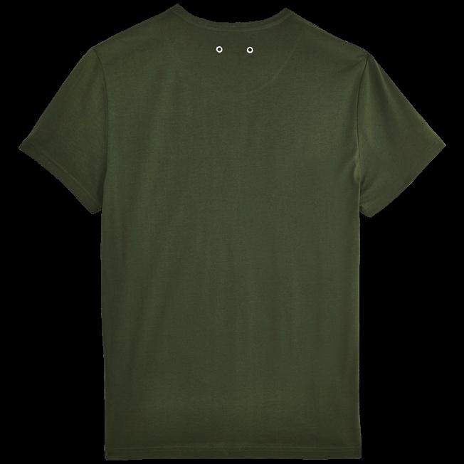 Vilebrequin - Solid V-neck Mercerized cotton T-Shirt - 2
